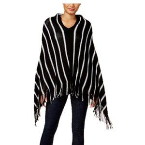 Charter Club Accessories - Charter Club Pinstripe Bias Poncho/Scarf, One Size